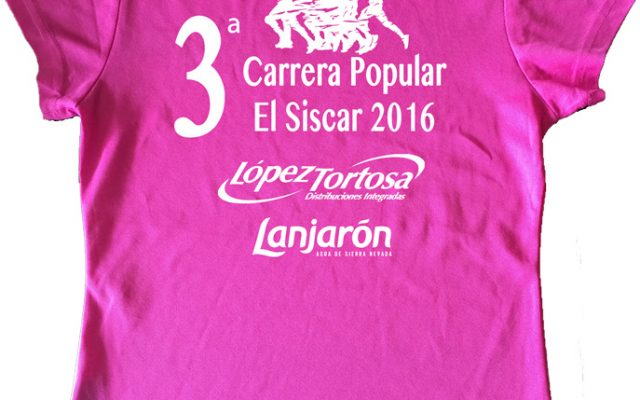 Camiseta Carrera Lanjarón