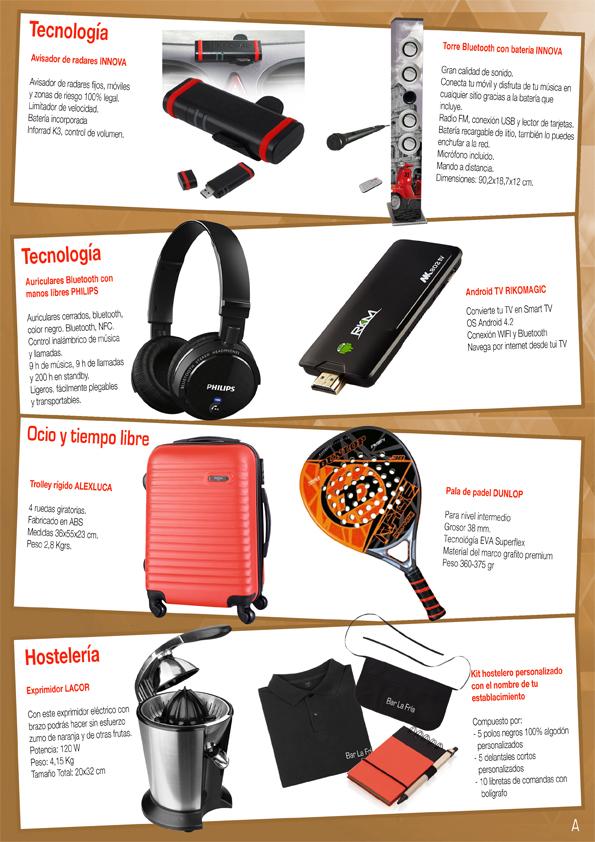 Catálogo Incentivos Venta Neta Distribuidores