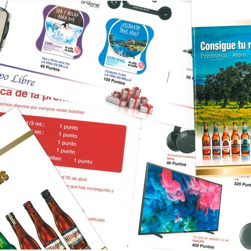 Catálogos de Incentivos
