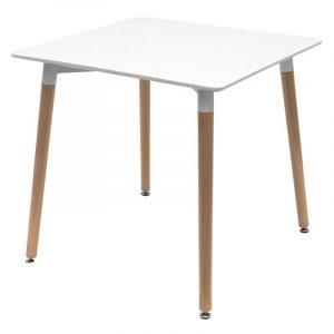 Mesa cuadrada barata para restaurantes