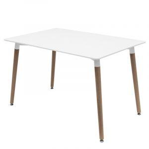 Mesa rectangular barata para restaurantes