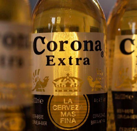 Coronavirus y cerveza coronita