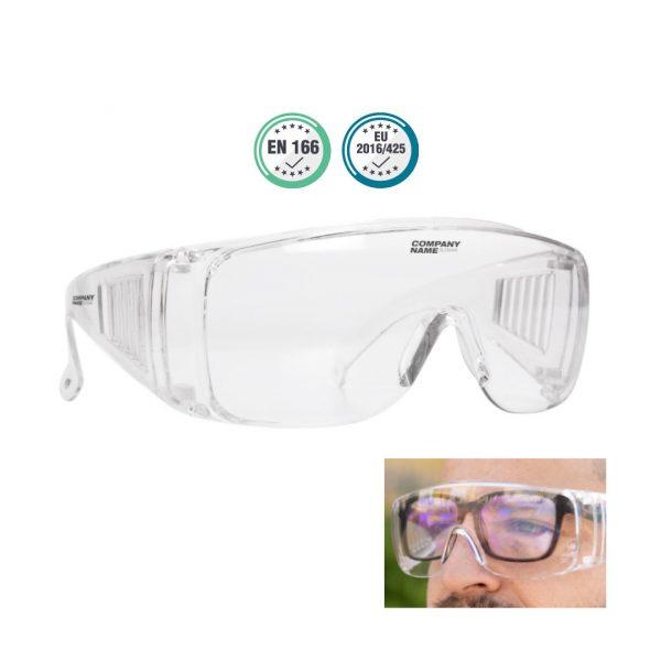 Gafas de seguridad antisalpicaduras